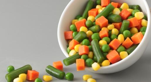 frozen veg